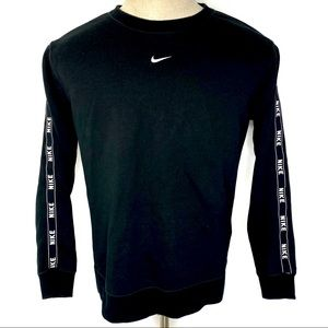 Nike Center Swoosh Crew Sweatshirt Logo Tape Arms